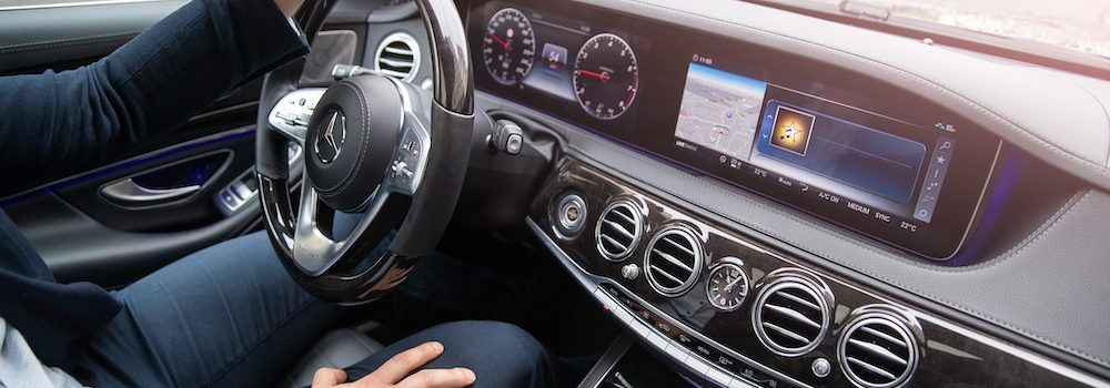 image of person driving